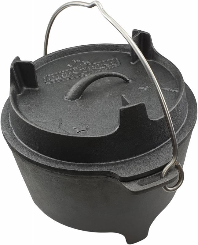 Grillfürst Dutch Oven BBQ Edition DO6 v2 Premium Set