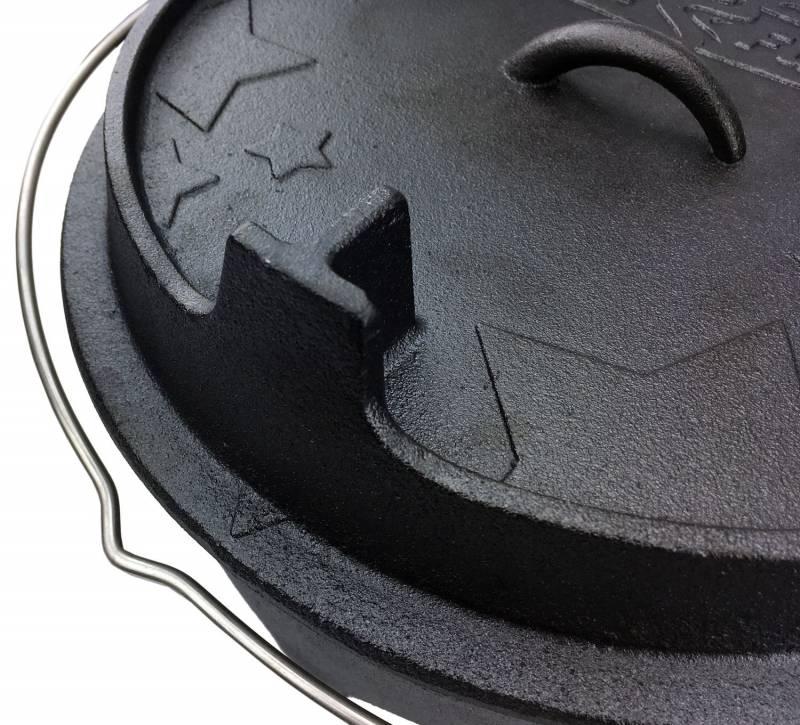 Grillfürst Dutch Oven BBQ Edition DO12 v2 Premium Set