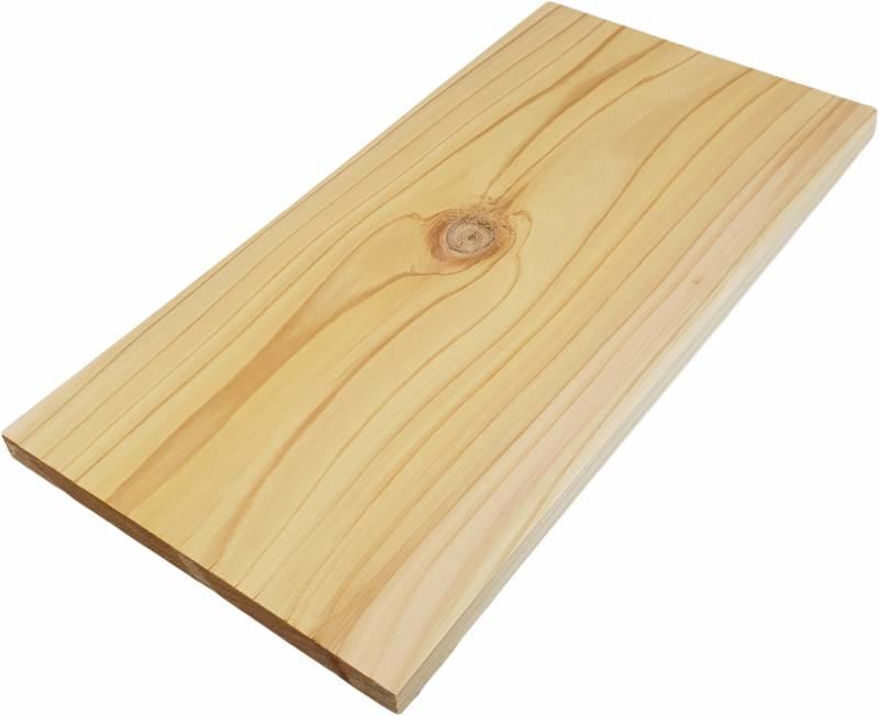 Axtschlag Räucherbrett (Wood Plank) 2. Wahl - Western Red Cedar - Rotzeder 30 x 15cm - 1 Stück