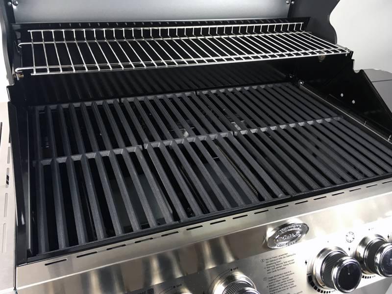 Rösle Gasgrill Videro G4-S limited Edition - Modell 2019 - Edelstahl inkl. Abdeckhaube r25310