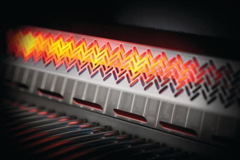Napoleon Prestige 500, Charcoal Grau - mit Safety Glow