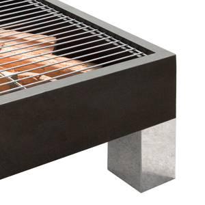Koenig Lifestyle BBQ Feuerstelle Quad 680, schwarz, 62 x 62 cm