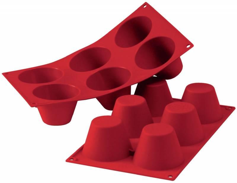 Koenig Silikon Backform, Muffinform, Pyramiden
