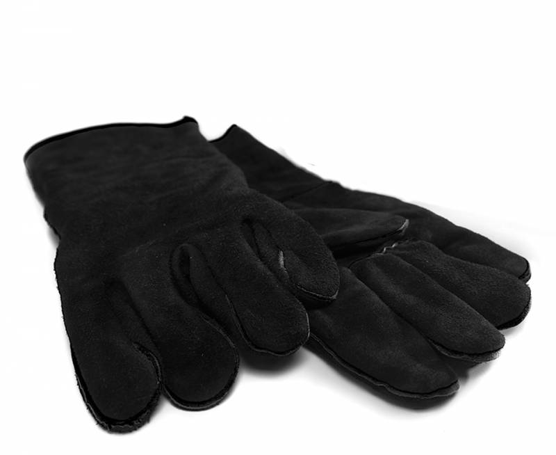 Koenig Lederhandschuhe, Paar, schwarz