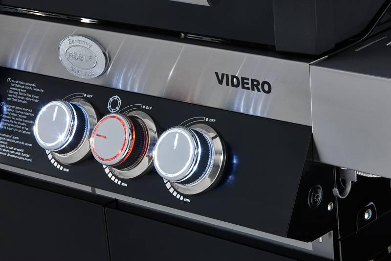Rösle BBQ-Island Videro G4-SL schwarz