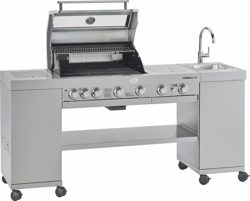 Rösle BBQ-Kitchen Videro G4-SK Edelstahl