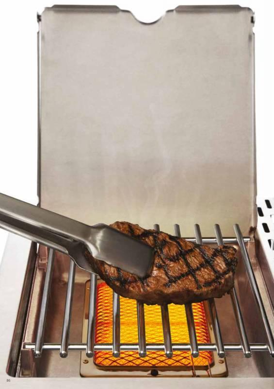 Broil King 800 Grad Infrarot-Grill-System zum Nachrüsten für Imperial, Regal, Baron (ähnlich Napoleon Sizzle Zone)