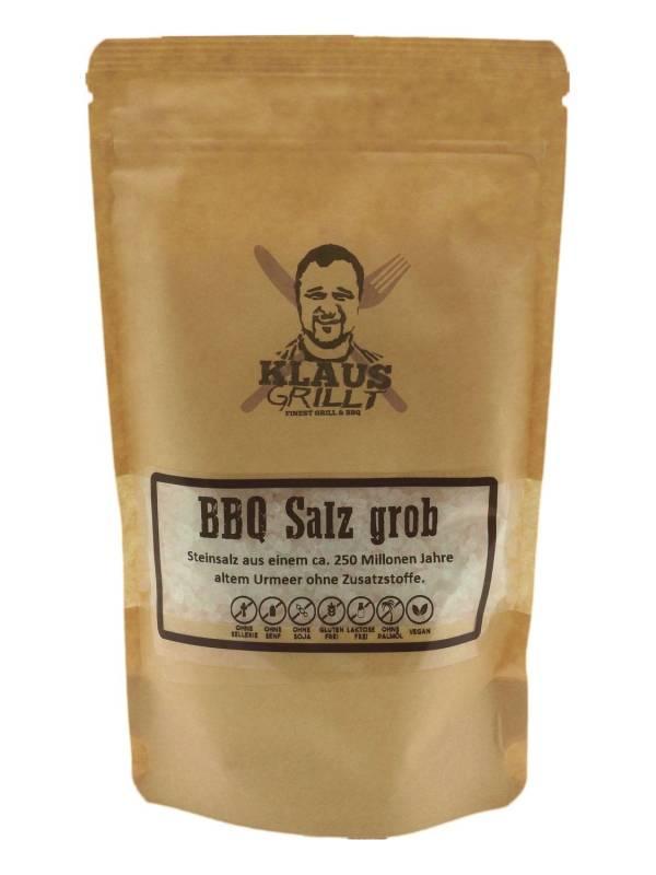 BBQ Salz grob 450 g Beutel by Klaus grillt