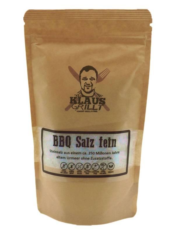 BBQ Salz fein 450 g Beutel by Klaus grillt