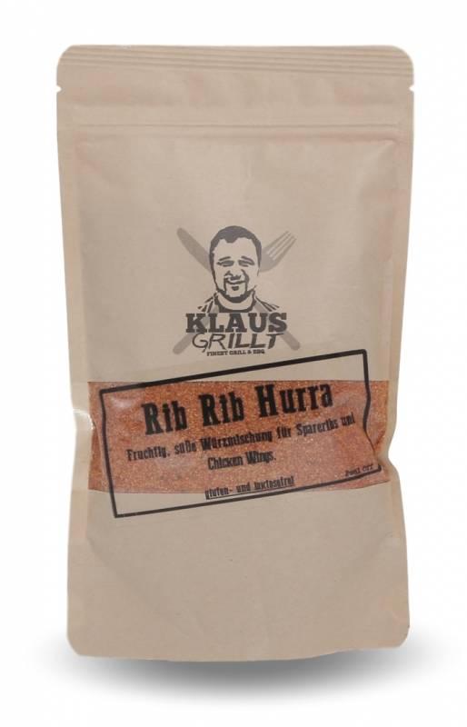 Rib Rib Hurra Rub 750 g Beutel by Klaus grillt