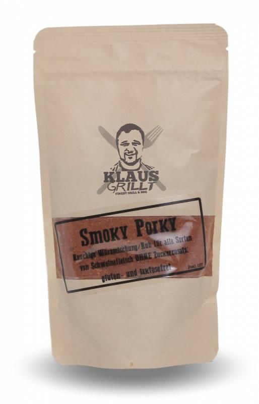 Smoky Porky Rub 250 g Beutel by Klaus grillt