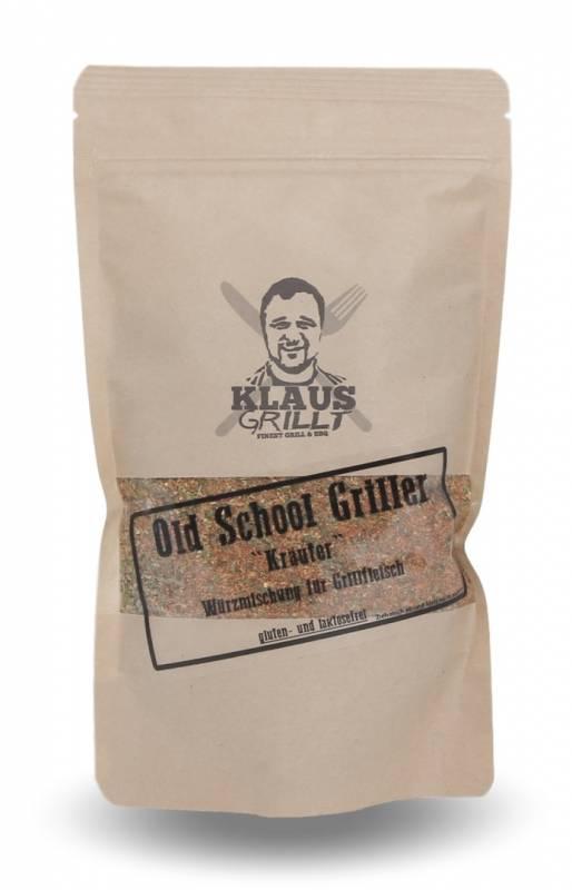 Old School Griller Kräuter 200 g Beutel by Klaus grillt