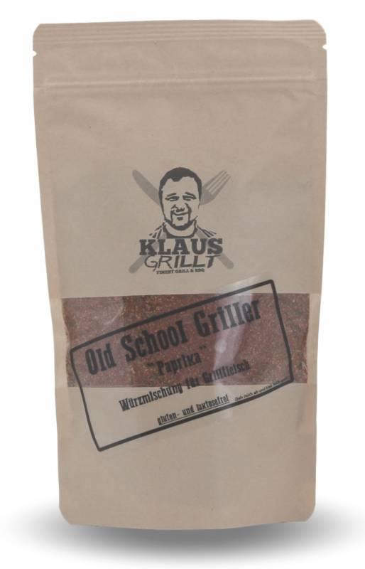Old School Griller Paprika 250 g Beutel by Klaus grillt