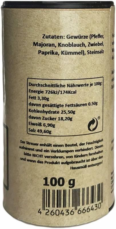 Ferkelsushi 100 g Streuer by Klaus grillt
