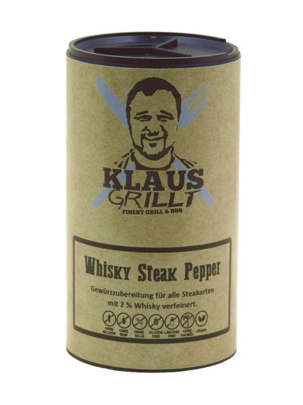 Whisky Pepper 100 g Streuer by Klaus grillt