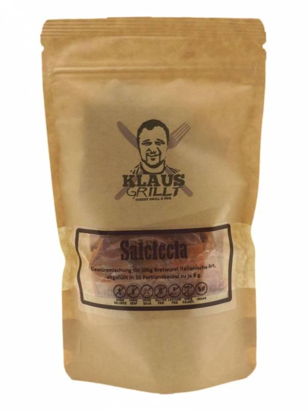 Salciccia Gewürzmischung 10er Set 80 g Beutel by Klaus grillt