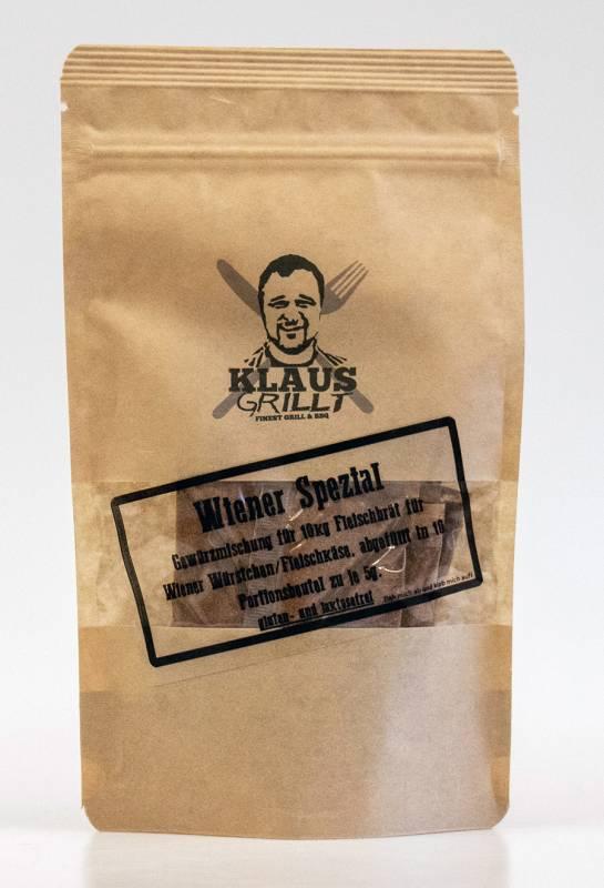 Wiener Spezial Gewürzmischung 10er Set 50 g Beutel by Klaus grillt