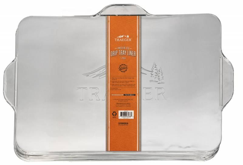 Traeger Aluminiumschale/ Fettauffangschale für Ironwood 650, 5er Pack
