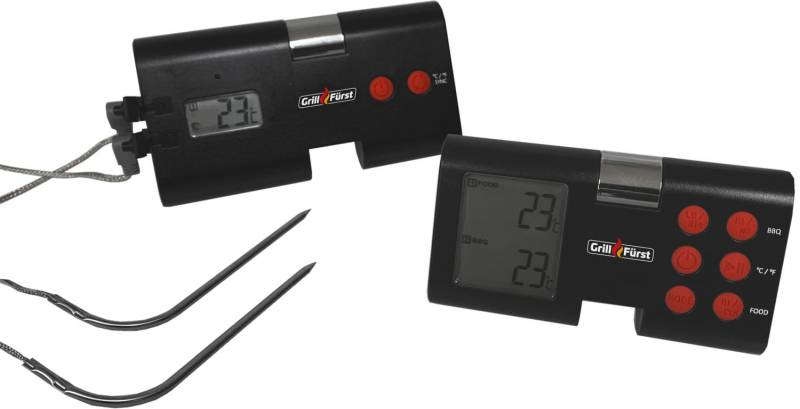 Grillfürst Funk-Thermometer / Grillthermometer / Grillgut Thermometer