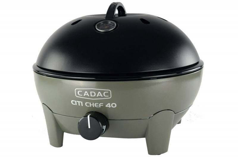 CADAC Kompakt Gasgrill Citi Chef 40 Olive Green - 50mbar