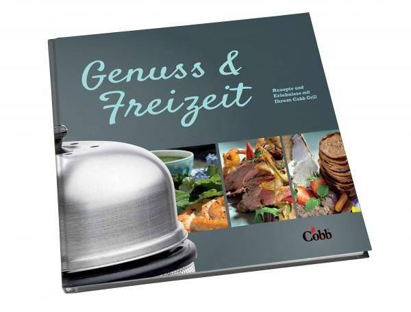 """Cobb Kochbuch """"Genuss & Freizeit"""""""