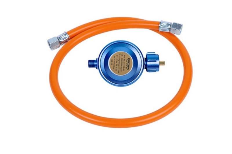 CADAC Universalregler 50 mbar mit Gasschlauch