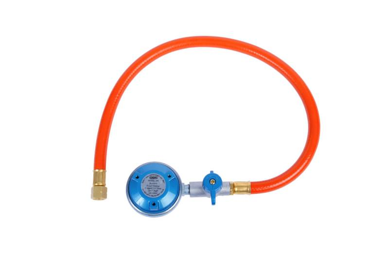CADAC EN417 Regler 50mbar mit Gasschlauch / zum Anschluss von Gaskartuschen