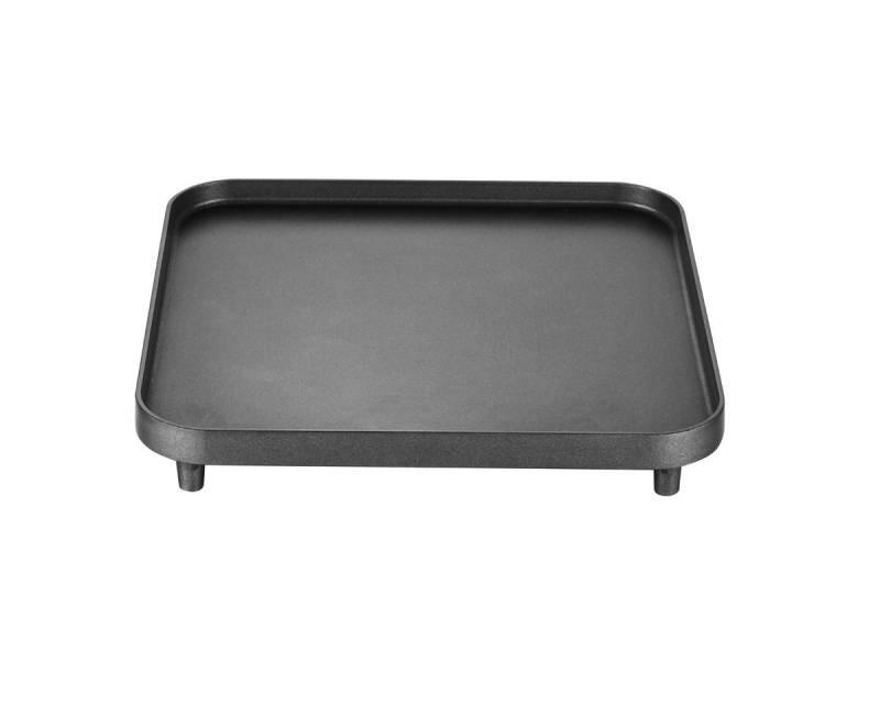 CADAC Grillplatte / Gussplatte für 2-Cook Gaskocher, 25cm x 25cm, glatt
