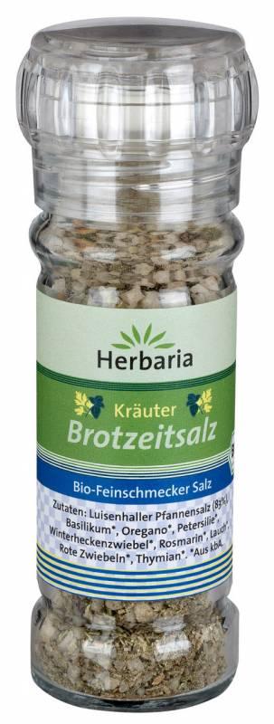 Herbaria BIO Kräuter Brotzeitsalz - Mühle 75g