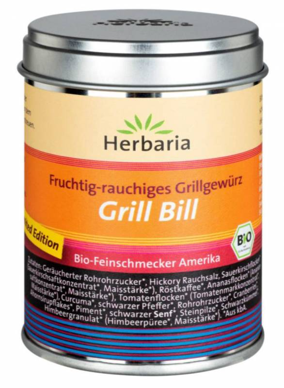 Herbaria BIO Grill Bill - Dose 85g