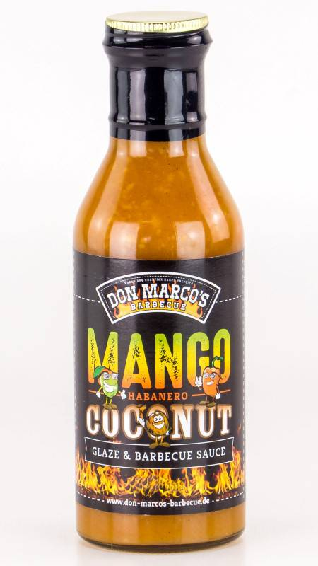 Don Marco`s Mango / Habanero / Coconut Glaze & BBQ Sauce 275ml