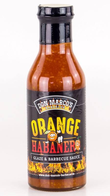 Don Marco`s Orange / Habanero Glaze & BBQ Sauce 275ml