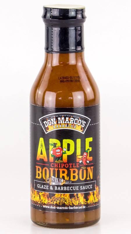 Don Marco`s Apple / Chipotle / Bourbon Glaze & BBQ Sauce 275ml