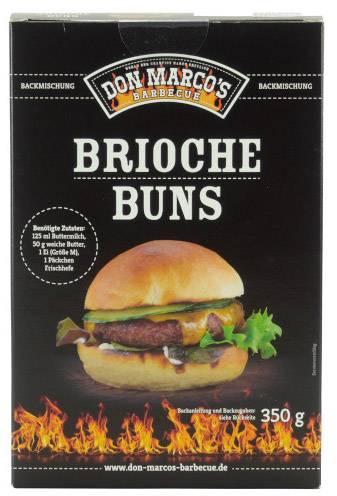 Don Marcos Brioche Burger Buns Backmischung 350g