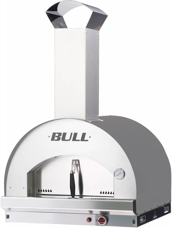 BULL Gas Pizzaofen L - Built-In Einbauofen 60 x 60 cm