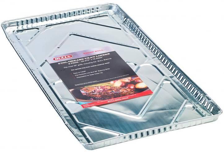 BULL Grill Fettauffangbehälter Liner 76 cm - 3er-Pack Poly Bag