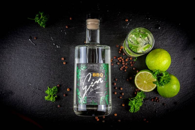 Grillfürst BBQ Gin - Gin like a Boss, 45 % vol. 0,5l