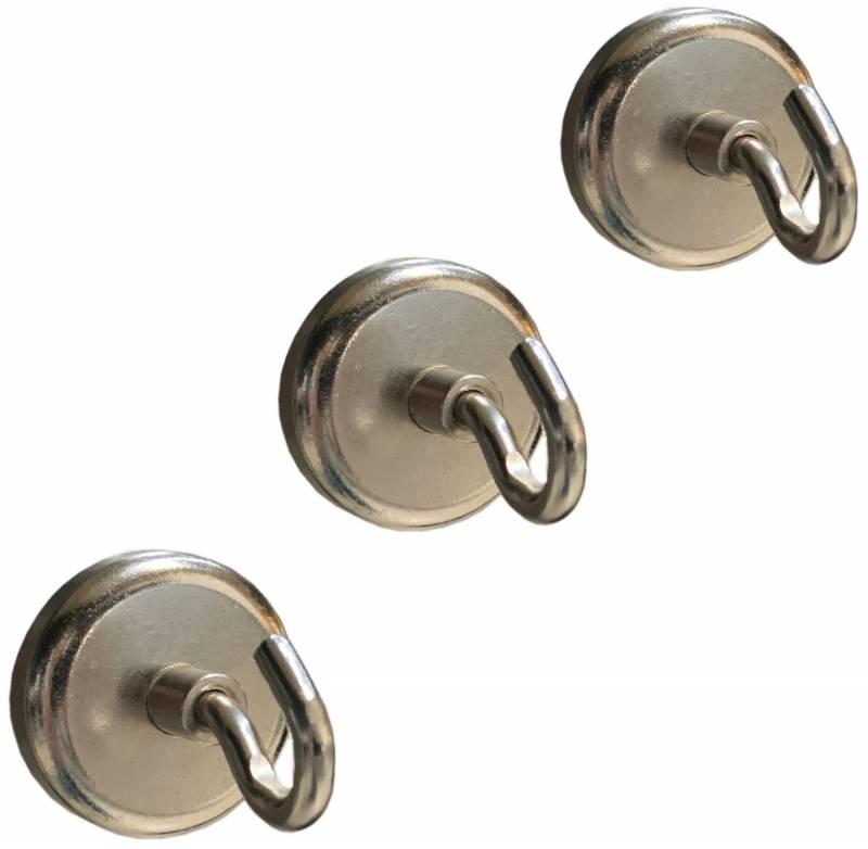 Grillfürst universal Besteckhaken magnetisch 3er Set
