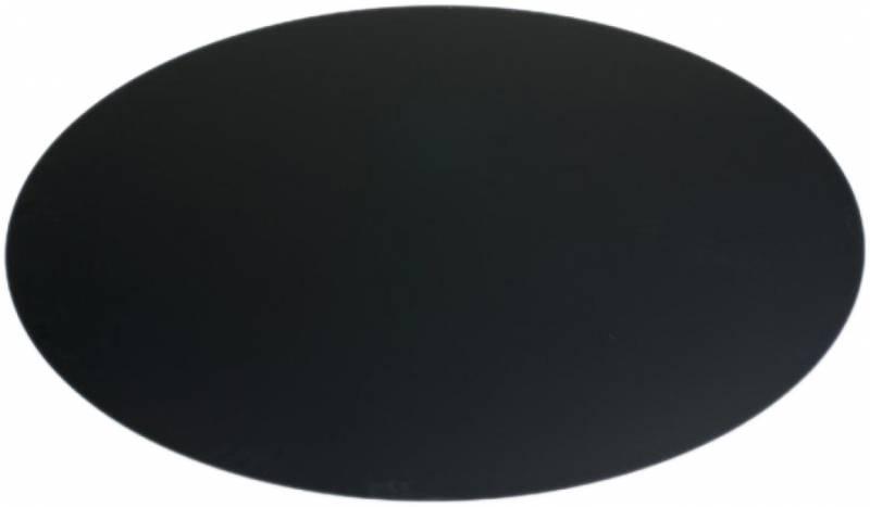 Girse Grillunterlage Bodenplatte schwarz 1,15m