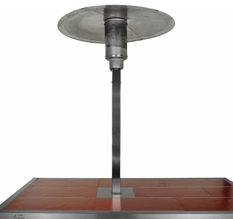 Girse Magic Table Zubehör: Gasheizstrahler (294x294mm)