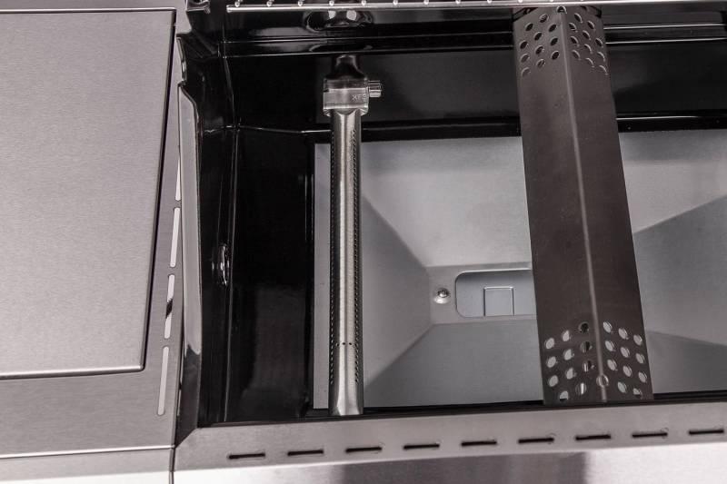 Grillfürst G410E 4-Brenner Gasgrill mit Hochtemperaturbrenner und Edelstahl Rosten