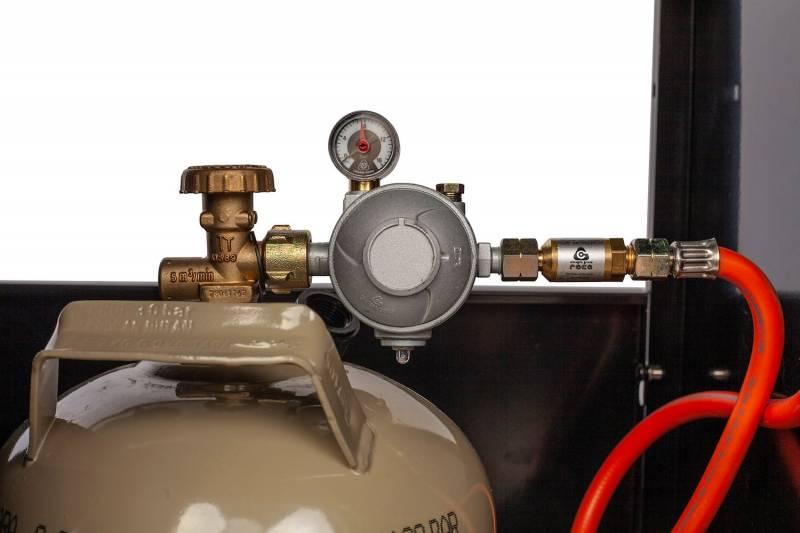 Grillfürst G510E 5-Brenner Gasgrill mit Hochtemperaturbrenner und Edelstahl Rosten