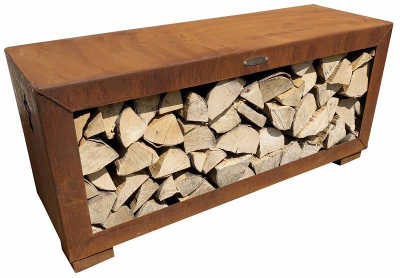 Remundi Holzlager (liegend - rusty)