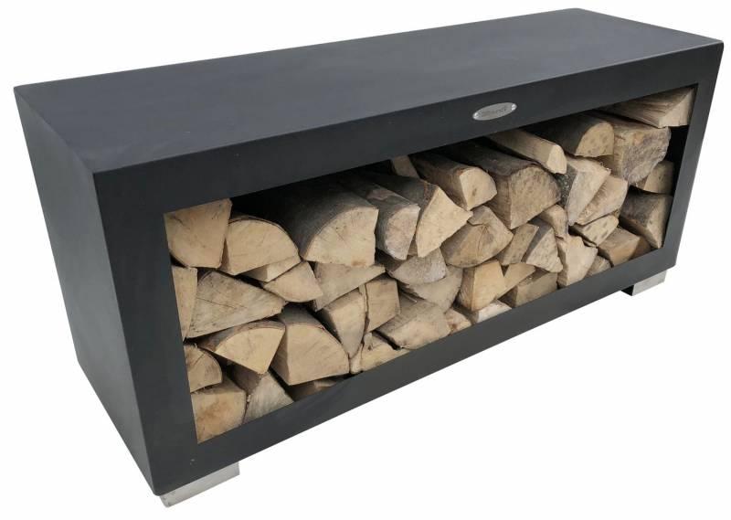 Remundi Holzlager (liegend - black)
