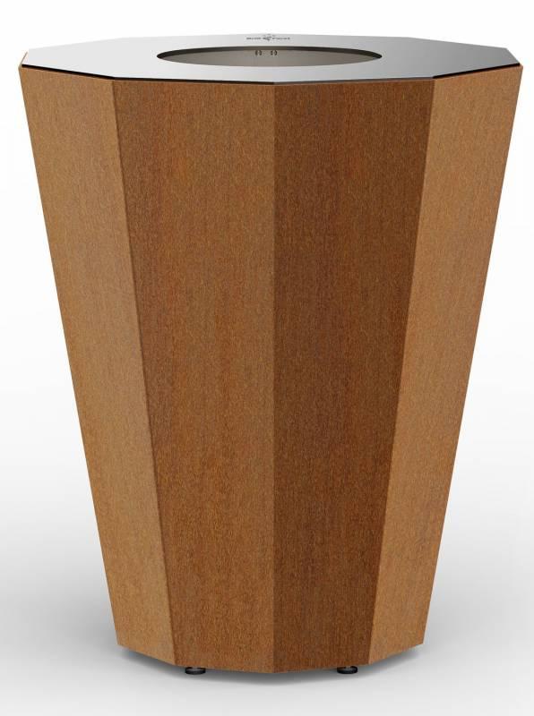 Grillfürst Feuerplatte F95C80 - Die elegante Feuerstelle mit Grillfunktion, Stehtischhöhe