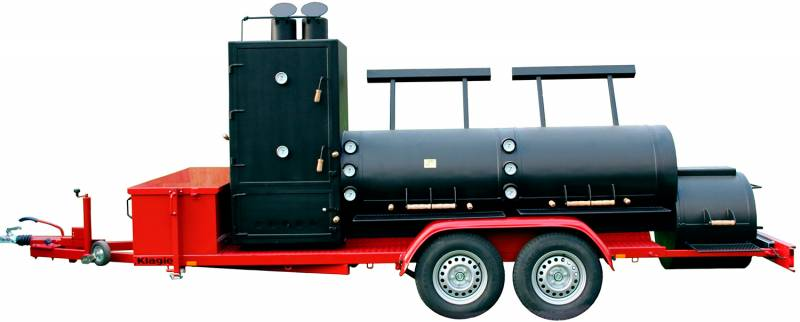 "JOE´s Barbeque JOE´s 30"" Extended Catering Smoker Trailer mit Doppelachse"