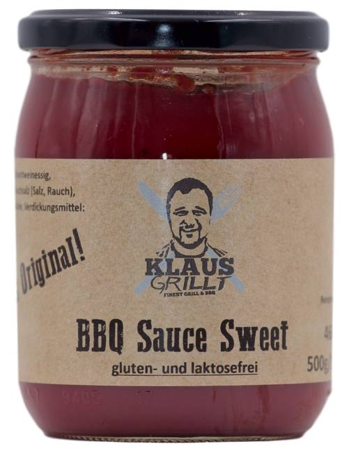 BBQ - Sauce Sweet by Klaus grillt 460 ml