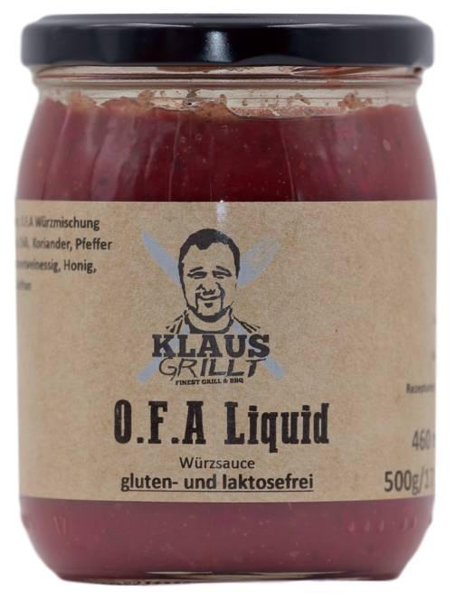 O.F.A. Liquid by Klaus grillt 500 ml