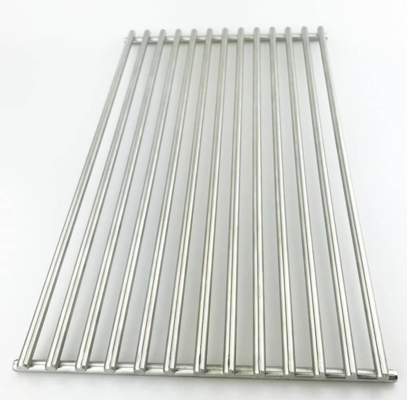 Grillfürst Edelstahl Grillrost breit, 1 Stk. für G310 / G410 / G510 (24,1 x 41,6 cm)