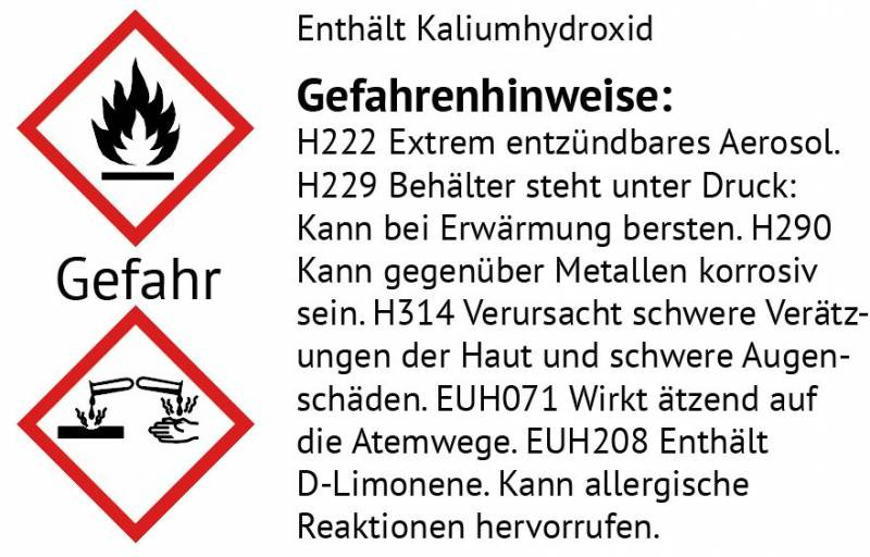 Grillfürst Power Schaumreiniger